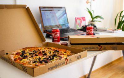 kwadratowe opakowanie na pizze 400x250